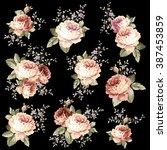rose flower illustration   Shutterstock .eps vector #387453859
