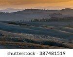 Landscape Of Hills  Crete...