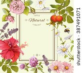 Natural Products Flower Frame...