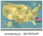 united states of america | Shutterstock .eps vector #387495199