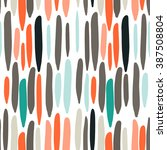 vector seamless pattern.... | Shutterstock .eps vector #387508804