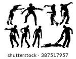 picture of zombies | Shutterstock .eps vector #387517957