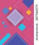 modern material design...   Shutterstock .eps vector #387560074