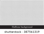 Stock vector vector halftone dots pattern 387561319