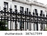 Black Wrought Iron Fence By...