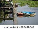 canal house | Shutterstock . vector #387618847