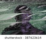 tv static screen | Shutterstock . vector #387623614