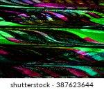 tv static screen | Shutterstock . vector #387623644