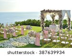 wedding set up | Shutterstock . vector #387639934