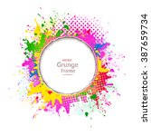 abstract background  grunge... | Shutterstock .eps vector #387659734