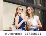 sale  consumerism and people... | Shutterstock . vector #387668131