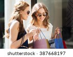 sale  consumerism and people... | Shutterstock . vector #387668197