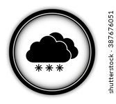 weather icon   vector icon ... | Shutterstock .eps vector #387676051