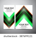 abstract vector modern brochure ...