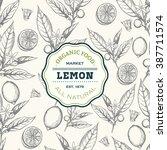 Lemon Tree Design Template....