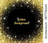 gold glitter texture isolated...   Shutterstock .eps vector #387728164