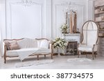 classic interior of living room ... | Shutterstock . vector #387734575