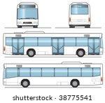 public bus template   layout...