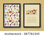 vector modern background of... | Shutterstock .eps vector #387781345