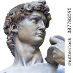 Detail Closeup Of Michelangelo...