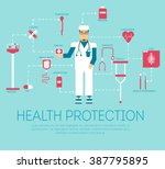 the patient came to the visit...   Shutterstock .eps vector #387795895