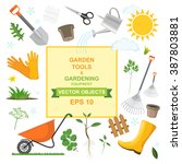 vector illustration icon set of ... | Shutterstock .eps vector #387803881