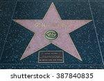 hollywood  california  ... | Shutterstock . vector #387840835