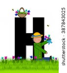 The Letter H  In The Alphabet...