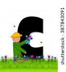 The Letter C  In The Alphabet...