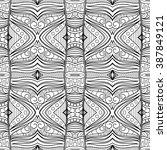 vector monochrome abstract...   Shutterstock .eps vector #387849121