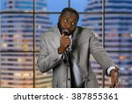 Black Stand Up Comedian....