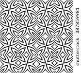 vector black color abstract... | Shutterstock .eps vector #387859981