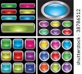 set of button | Shutterstock .eps vector #38786512
