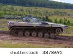 bmp 2 armored vehicle | Shutterstock . vector #3878692
