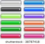 web shiny buttons. vector...   Shutterstock .eps vector #38787418