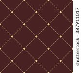 geometric repeating brown and... | Shutterstock . vector #387911017