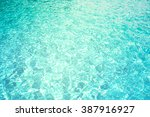 patterns of movement of water... | Shutterstock . vector #387916927