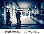 bokeh background of pilots... | Shutterstock . vector #387924517