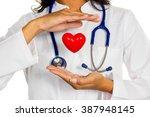 internist with heart | Shutterstock . vector #387948145