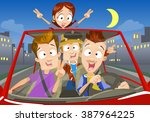 vector cartoon illustration of... | Shutterstock .eps vector #387964225