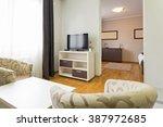 apartment interior | Shutterstock . vector #387972685