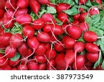 Red Radish On Market....