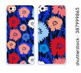 phone case collection.vector... | Shutterstock .eps vector #387999865