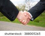 hand in a hand | Shutterstock . vector #388005265