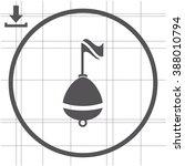 Buoy Vector Icon.