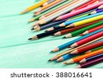 Drawing Colourful Pencils On A...