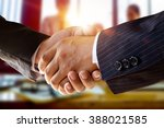 Small photo of shot of businessmen handshaking.acquisition concept.