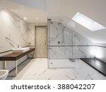 luxury bathroom | Shutterstock . vector #388042207