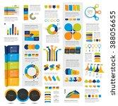 mega set of infographics... | Shutterstock .eps vector #388056655