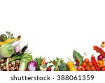 healthy eating background. food ... | Shutterstock . vector #388061359